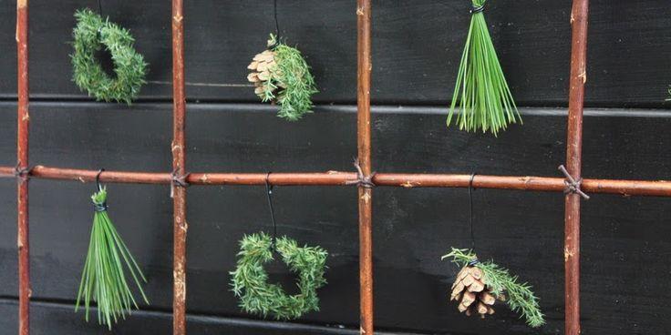 NATURLIG PYNT - Natural christmas ornaments