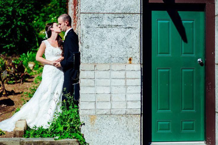 Green door #Wedding #Halifax #NovaScotia #Canada #HalifaxWedding #VSCO #VSCOFilm