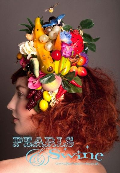 The Tutti Frutti Hat – Carmen Miranda Inspired Fruit Headdress