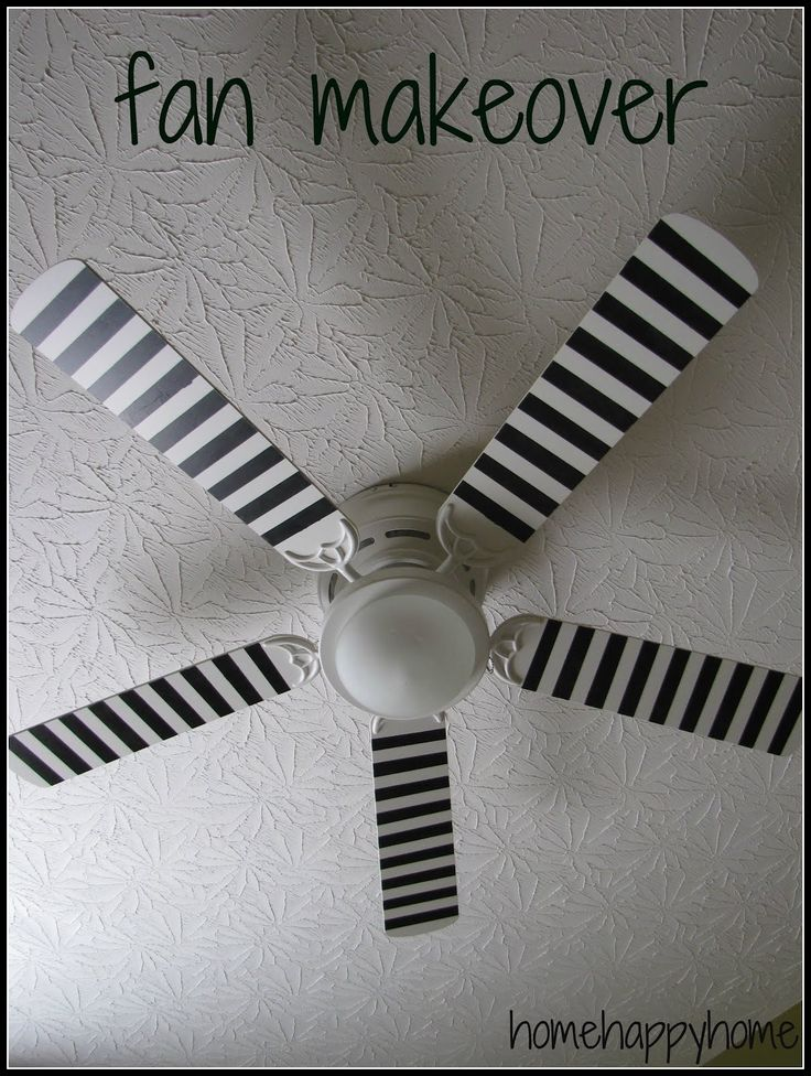 17 mejores ideas sobre pintar ventiladores de techo en - El mejor ventilador de techo ...