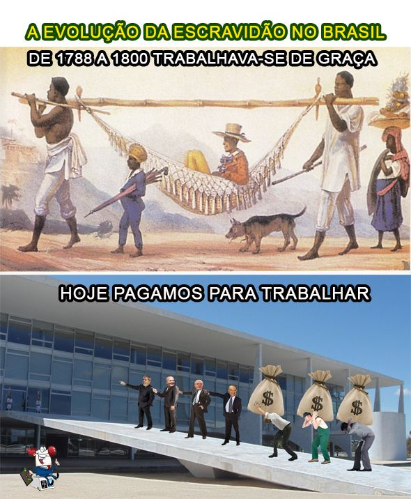 A FARRA DOS IMPOSTOS E A ESCRAVIDÃO DO POVO..