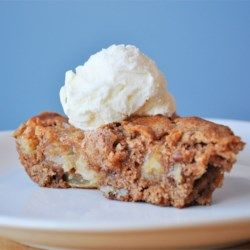 Skillet Apple Brownie - Allrecipes.com