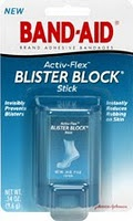 I discovered this AMAZING blister preventer at CVS Pharmacy. This blister block is simple to use, it's invisible, and it has saved my feet from blisters numerous times!! It is well-worth the price (about $7), trust me...your feet will thank you!  busygaltips.blogspot.com