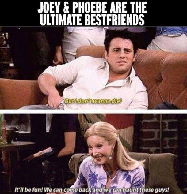 Best friend goals. Theirs has always been my favorite friendship on the show.
