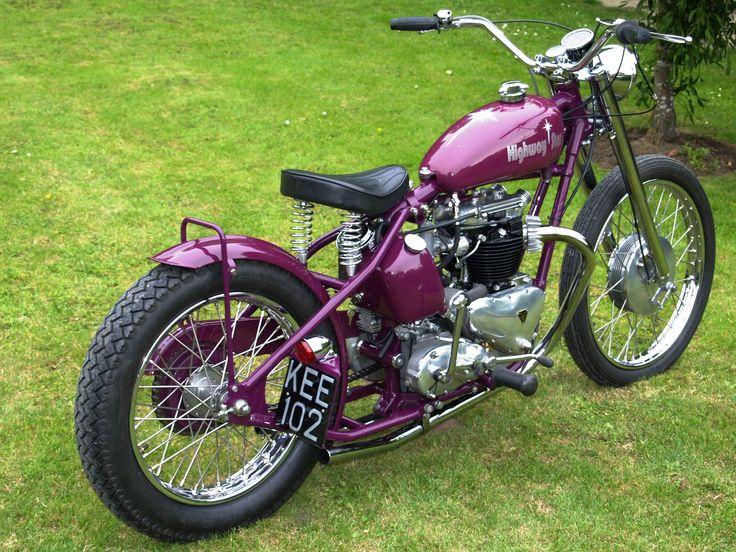 154 best vintage triumph images on Pinterest Triumph motorcycles