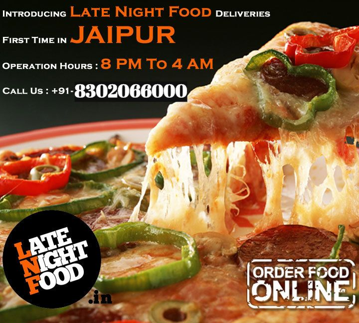 Tonight's gonna be a good , Good Night!! Midnight Hunger? Working Late Night in Office? After Parties? Sleepless & Alone ? # 3AMFriend is a call away! Order Now and get 10 % discount on online order  Pizza # Pasta # Noodles # Burger # Frappe # Mojito # Brownie # Cakes # Bouquet N Many More  call on 8302066000 click : www.latenightfood.in