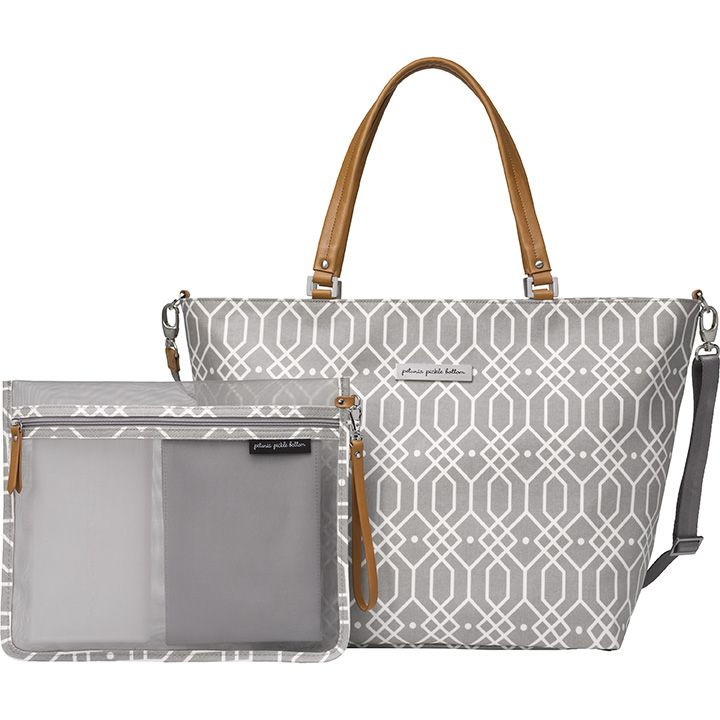 Petunia Pickle Bottom Altogether Tote in Quartz | Trendy Diaper Bags for Fashionable Moms!
