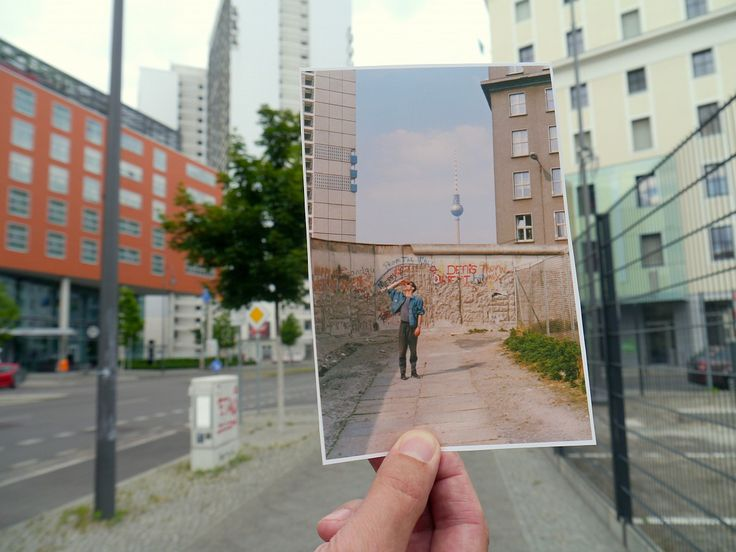 "BERLIN border 1990 and now ""Berlin- Kommandant Strasse"" @Francesca Willbrand"
