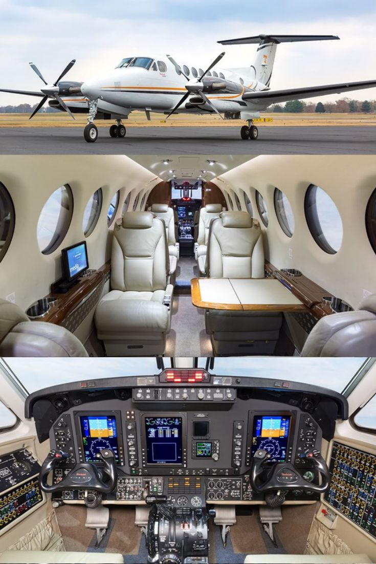King Air 350i for Sale Private jet interior, Private