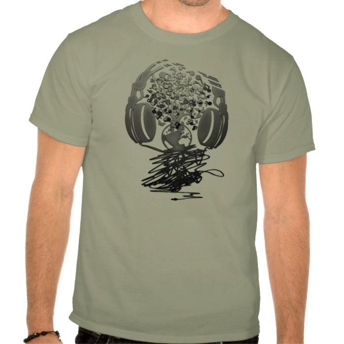 Earth_Music T Shirt, Hoodie Sweatshirt