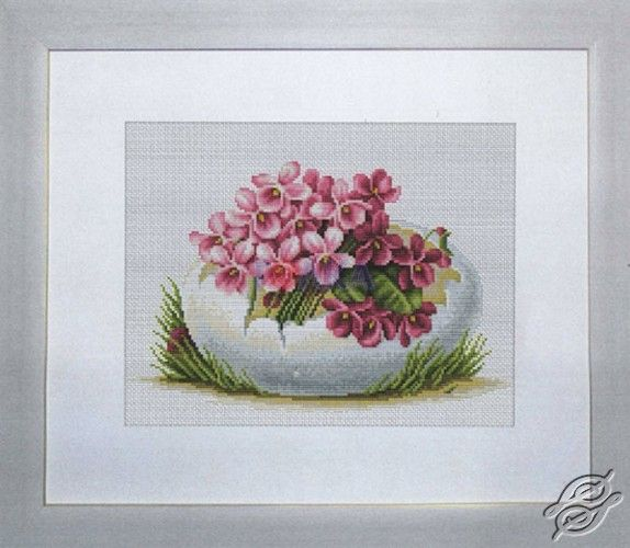 On Easter - Cross Stitch Kits by Luca-S - B105