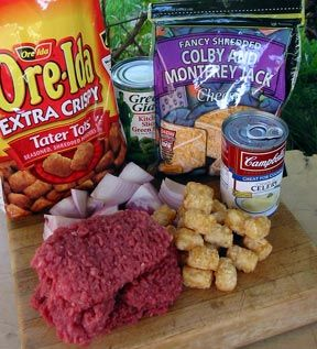 Camp Cooking: Recipe for Tater Tot Casserole
