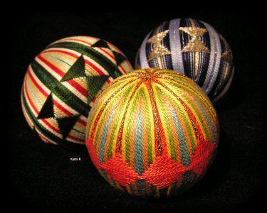 Temari, las maravillosas bolas japonesas