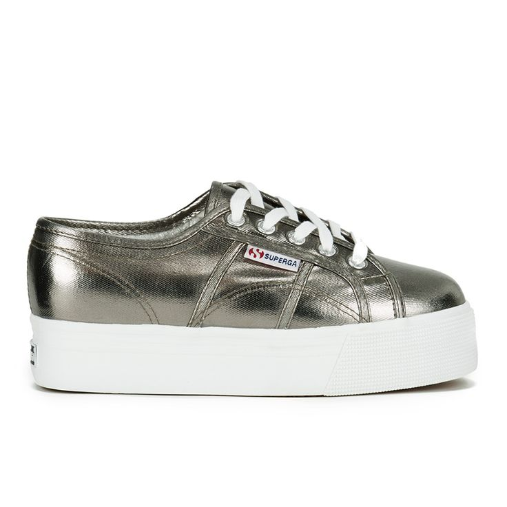 Get Superga Women's 2790 Cotmetw Flatform Trainers - Grey now at Coggles - the one stop shop for the sartorially minded shopper. Free UK & EU delivery when you spend £50.