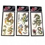 Tatouages temporaires design Dragon
