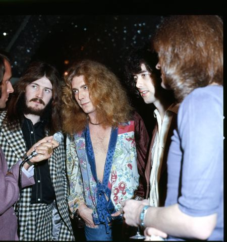 At a press conference in late February 1972 in Sydney, Australia Some of the press didn't initially recognize Jimmy Page, for he'd arrived clean shaven after sporting a beard for nearly two years! A short segment from a local news station with film of the band at the conference is available on the official Led Zeppelin DVD.