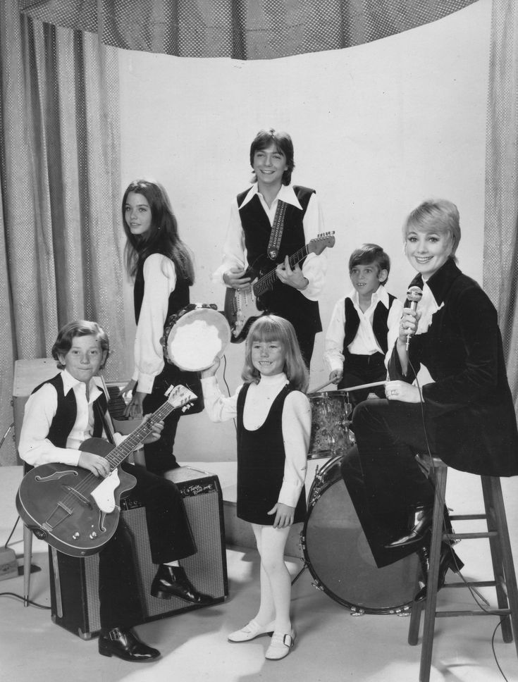 The Partridge Family | Formed in 1970 as an American television sitcom series about a widowed mother and her five children who embark on a music career | Screen Gems promoted the show by releasing a series of albums featuring the family band