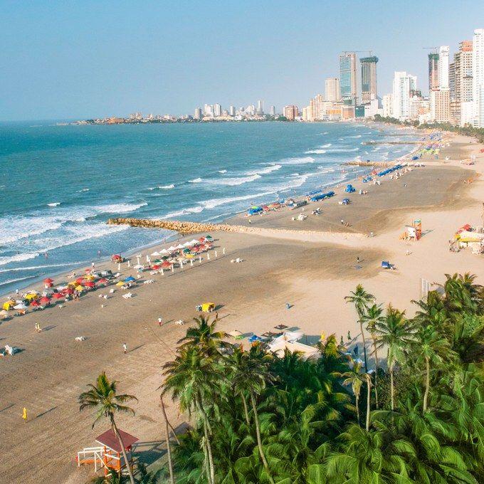 Cartagena's Bocagrande beach