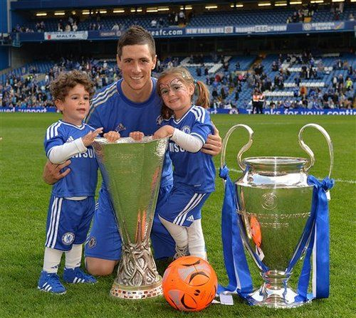 Fernando Torres and Chelsea FC are technically current Champions of the  Europa League and Champions