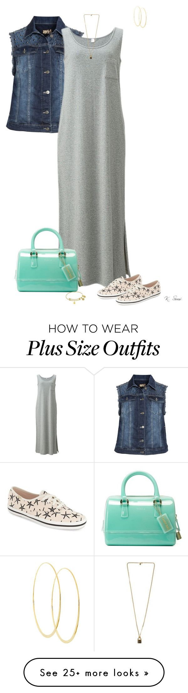 """Keds for the Summer"" by ksims-1 on Polyvore featuring aprico, Uniqlo, Kate Spade, Furla, Michael Kors and Lana"