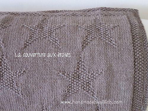 Ravelry: Star blanket pattern by Aurélie Chauvel. Free