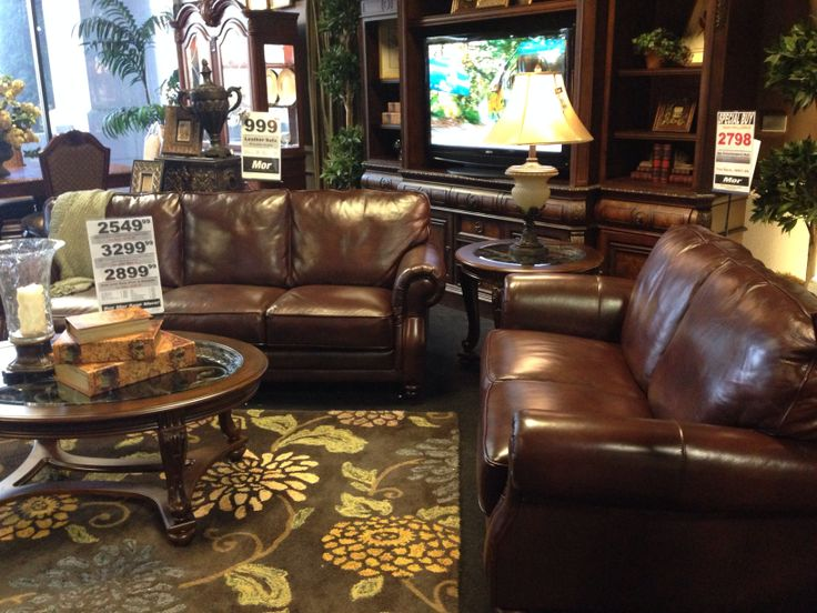 Mor Furniture Leather Sofa Leather On Seats Only
