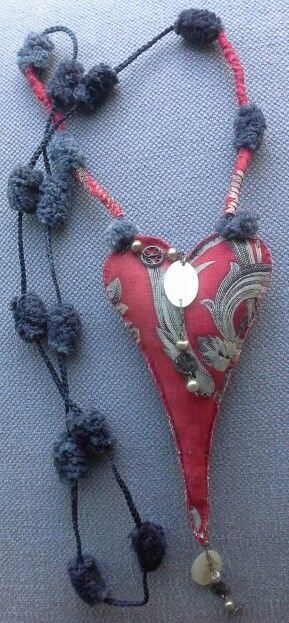 "Bijou textile ""Bobo, Ethno, Chic"". Design by Veronik B"