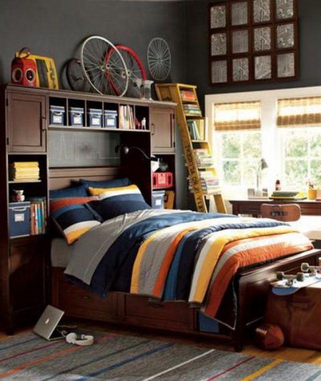 39 comfortable teen boys room design ideas page 4 of 40 boy s rh pinterest com