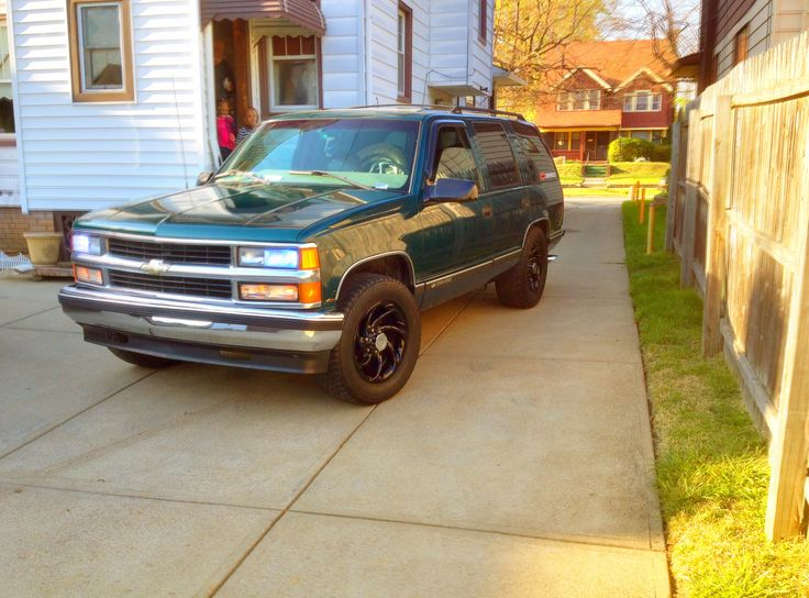 1999 Chevy Tahoe named Brutus.