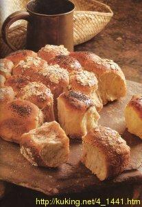 ПРАЗДНИЧНЫЙ ХЛЕБ (ПАТИБРОТ) один хлеб состоит из множества маленьких булочек