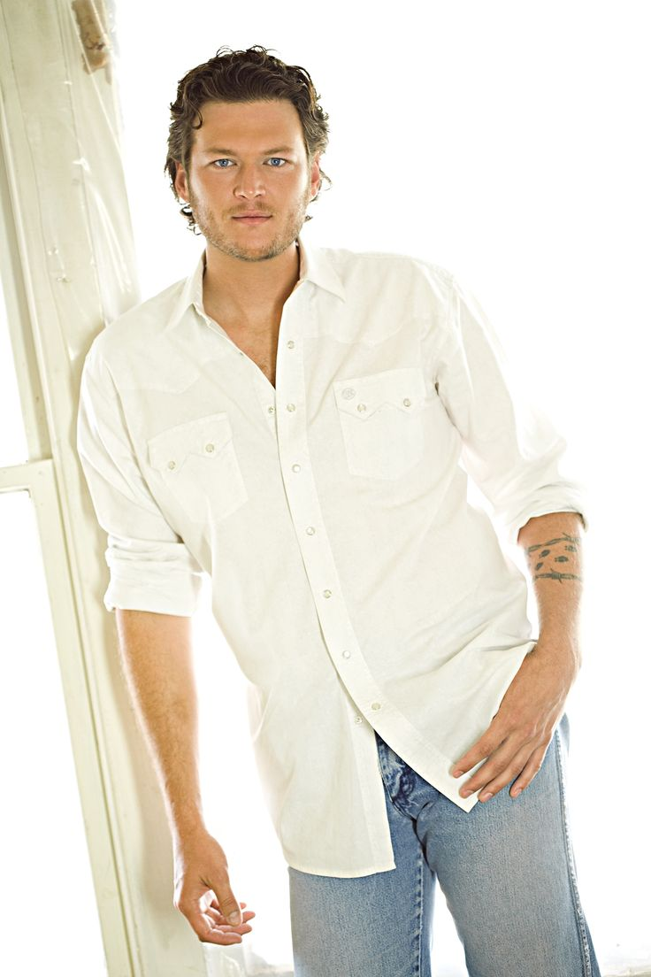 Blake Shelton - also seen this guy twice in concert....one of my favorite country singers
