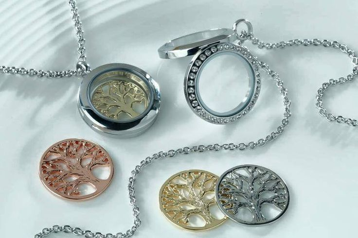 Loving the family trees! Add your family birthstones and you have the perfect locket.  www.southhilldesigns.com/nicolehuntley