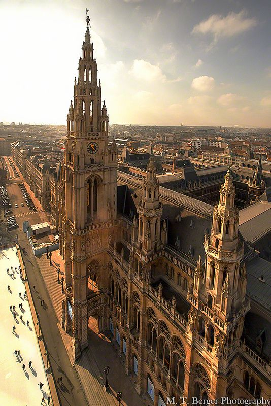 Rathaus of Vienna |M.T. Berger