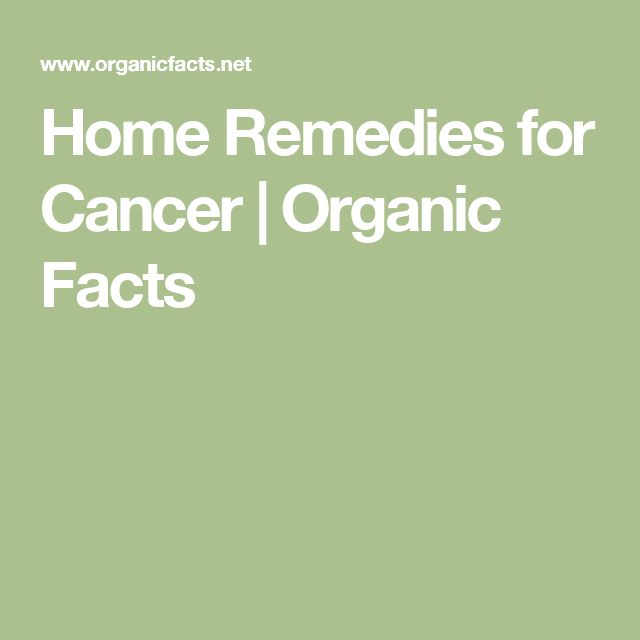 Home Remedies for Cancer   Organic Facts