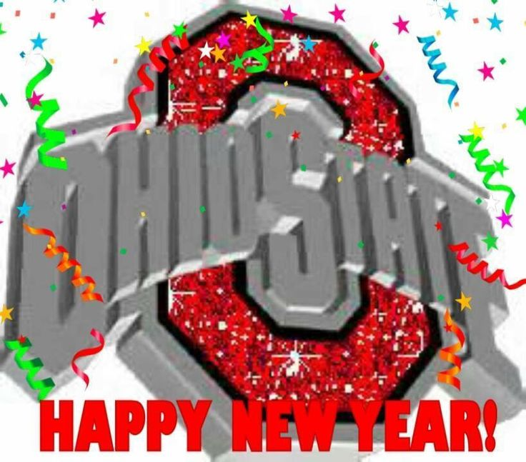 Happy New Year | Buckeyes | Pinterest | Happy new year ...