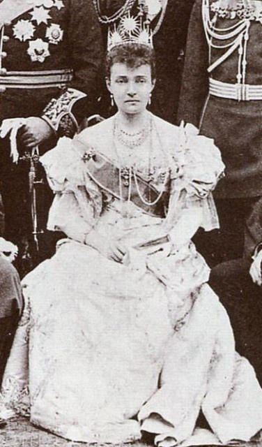 Duchess of Connaught, wife of Queen Victoria's third son, seventh child Prince Arthur.