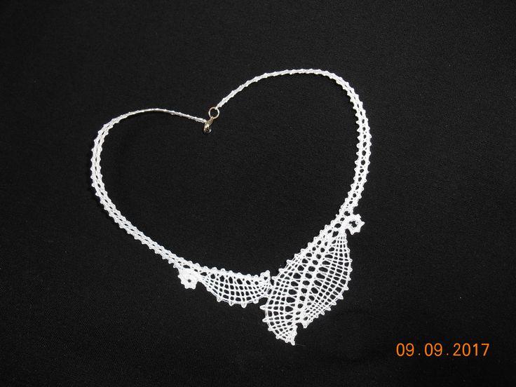 paličkovaný náhrdelník