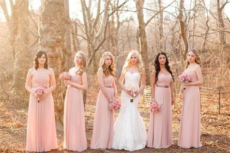 Afficher le temps pour les robes de demoiselle d'honneur sans bretelles - she blog