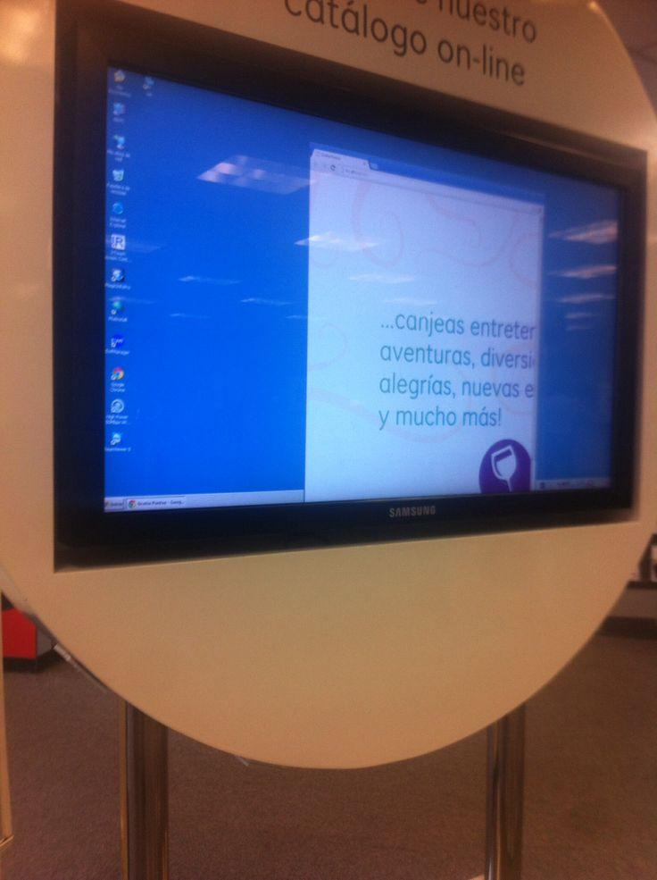 Scotiabank, Lima (Perú). Windows media player and Chrome...crazy