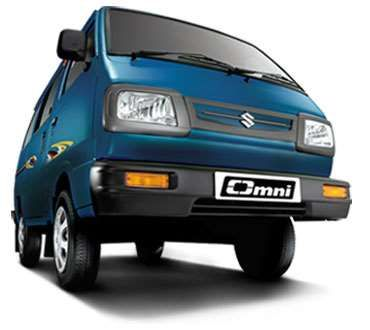Maruti Suzuki Omni Van was launched in 1985 in India. The car comes with an option between an 8-seater and a 5-seater. Omni is available in 4 variants, which includes cargo and ambulance as well. Omni price starts from 2.66 Lakhs and goes up to 2.97 Lakhs (Ex-showroom Price in Delhi). Check more features and specification about Omni Car.