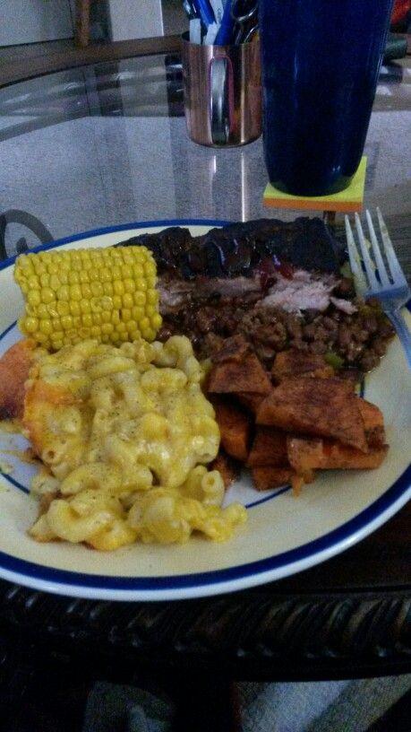 Good ol bbq plate