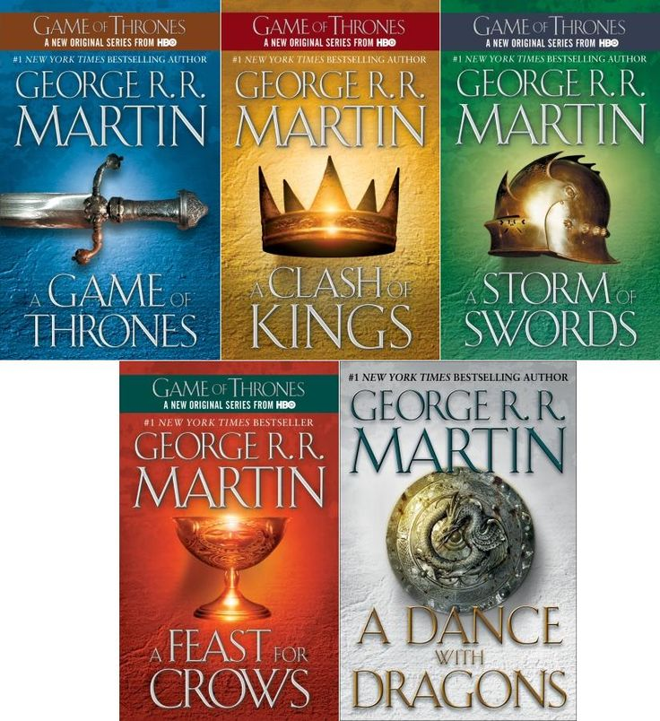Song of Fire and Ice...come on book 6!