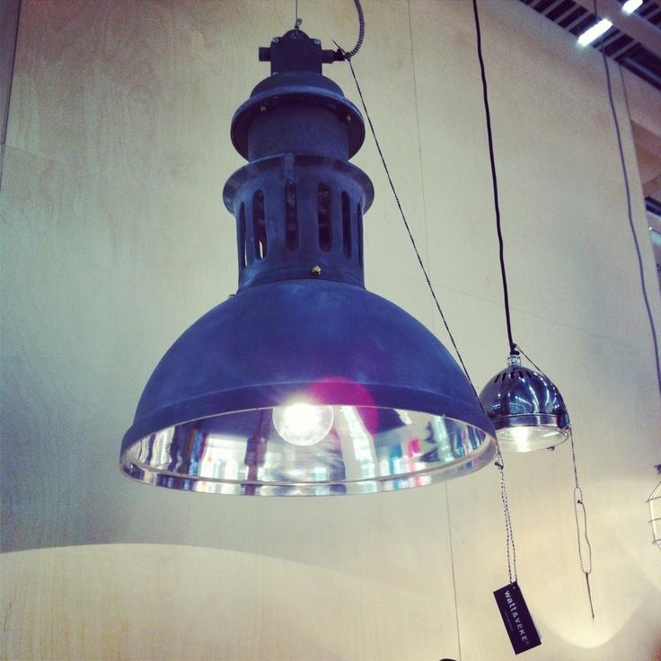 Lamp from Watt & Veke at Formex