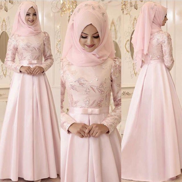 Pınarşems Büşra Abiye  Fiyat 485 tl  Beden 36-38-40-42  #pınarşems #abiye #elbise #2017trend #hijab #hijabi #tesettür #tesettur #tunik #etek #yelek