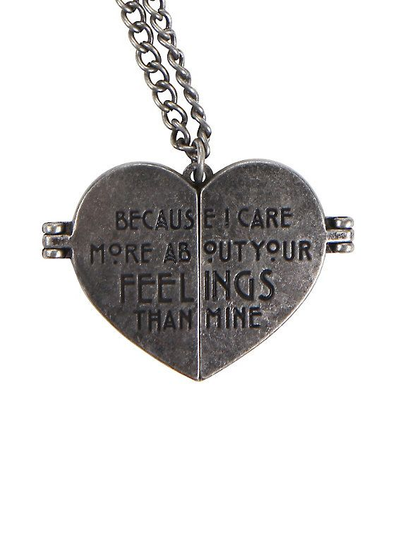 American Horror Story Tate Heart Locket Necklace,