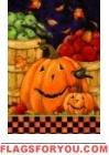 Jolly Pumpkins House Flag