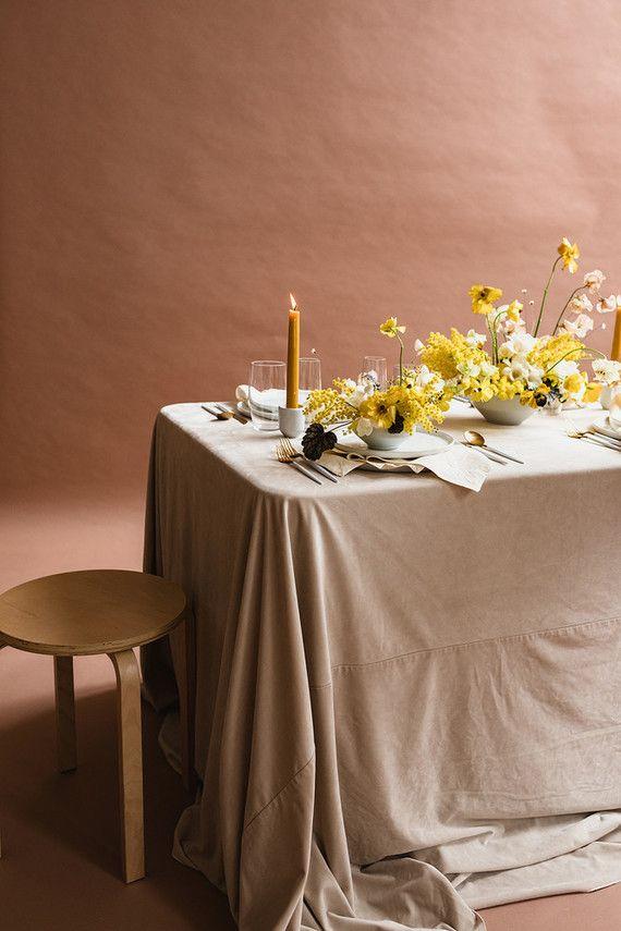 la tavola fine linen rental velvet beige with tuscany eggshell rh pinterest com
