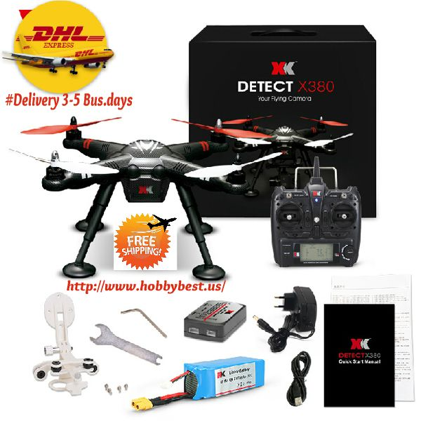 RC Quadcopter Sky Leader Standard Configuration GPS Headless Mode XKDetect X380    This RC Quadcopter Sky Leader by XK Detect X380 is a quadcopter drone with GPS. This means it has a lot of features like hoovering, headless mode, stable flight. T...