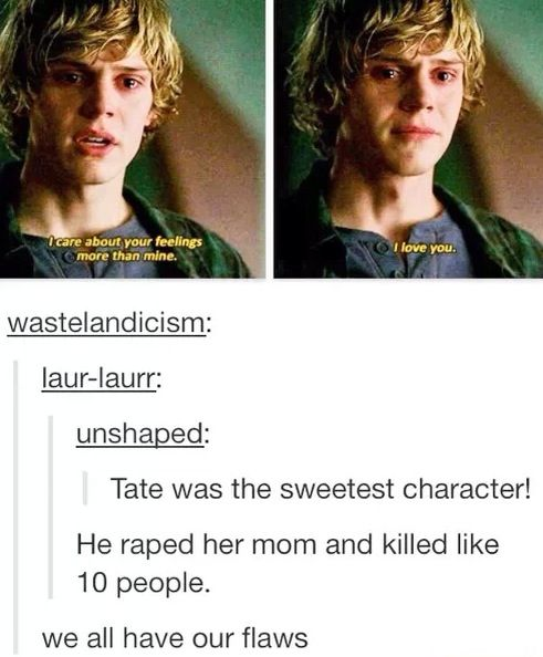 Ahs // american horror story // even peters