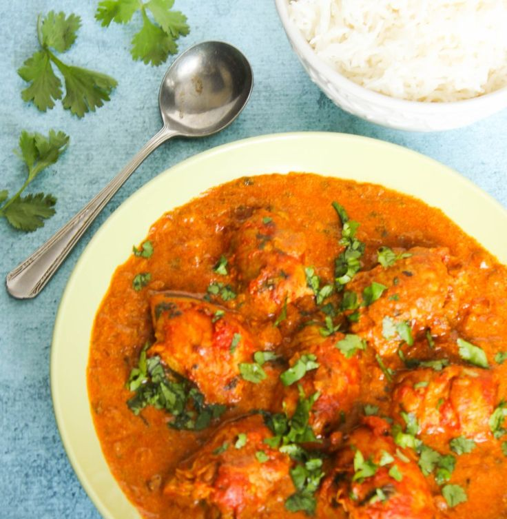 This North Indian Chicken Curry is very fragrant and easy to make. Be sure to have lots of nann bread handy to scoop all that great sauce.